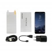 EY HOMTOM S8 De 5,7 Pulgadas 4G RAM 64G ROM De Doble Cámara Trasera-negro Teléfono De Huella Dactilar