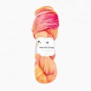 Rico Design Luxury Hand-Dyed Happiness dk von Rico Design, Lachs- Gelb
