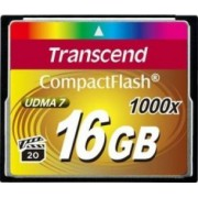 Card de Memorie Transcend Compact Flash 16GB 1000x