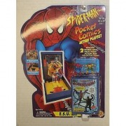 Marvel Spiderman Pocket Comics Action Playset 'Esu Lab'