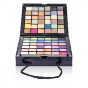MakeUp Kit 398: (72x Eyeshadow 2x Powder 3x Blush 8x Lipgloss 1x Mini Mascara 6x Applicator) - Коплект Гримове 398: (72x Сенки за Очи 2x Пудра 3x Руж 8x Гланц за Устни 1x Мини Спирала 6x Апликатор)