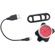 EH Luz Delantera Super Brillante LED Bicicleta Recargable USB