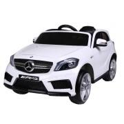 Masinuta electrica cu roti din cauciuc Mercedes Benz A45 AMG SUV White