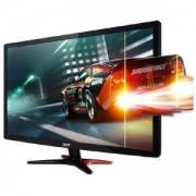 Монитор Acer 24 GN246HLBbid, NVIDIA 3D Vision, LED, 24 инча (61cm), FullHD 144 Hz, 1 ms, 100M:1, 350 cd/m2, VGA, DVI, HDMI, UM.FG6EE.B06