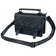 Banned Alternative Nocturne Handtasche-schwarz Onesize Damen