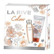 La Rive Colour Woman - zestaw, woda perfumowana, żel pod prysznic