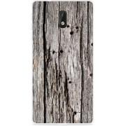 Nokia 3 Hoesje Oud hout