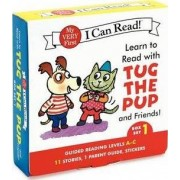 Learn to Read with Tug the Pup and Friends! Box Set 1 by Julie M. Wood