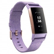 Fitbit Fitness Náramek Fitbit Charge 3 Lavender Woven