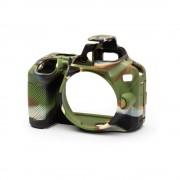EasyCover Carcasa Protectie pentru Nikon D3500 Camouflage