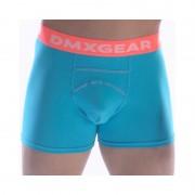 DMXGEAR Anatomic Fit Luxury Cotton Boxer Brief Underwear Turquoise DMX18AF02