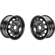Set 2 jante otel OPEL Astra H 2004-2009 6.5Jx15 H2 ET 35 4X100
