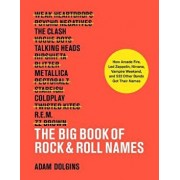 The Big Book of Rock & Roll Names: How Arcade Fire, Led Zeppelin, Nirvana, Vampire Weekend, and 532 Other Bands Got Their Names, Paperback/Adam Dolgins