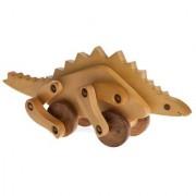 BuzyKart Wooden Cute Dinosaur - Stegosaurus