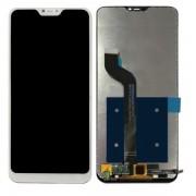 Display LCD e touch Xiaomi Mi A2 Lite ou Redmi 6 Pro Branco