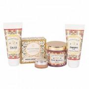 Quinta Essentia Organic 100 Pure Handmade Beauty Personal Care Kit For MenCombo Skin Care Gift PackParaben Free Ski