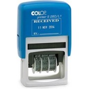 Colop tekststempel met datum Printer tekst: RECU LE