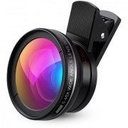 Shivrun 37MM 0.45X High Definition Photography Camera Wide Angle with Detachable Macro Conversion Lens