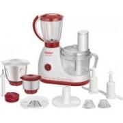 Maharaja Whiteline chef 100 600 W Food Processor(Red,White)