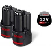 Akumulator-baterija 12V set 2kom Bosch 2 x GBA 12V 2,0Ah (1600Z00040)