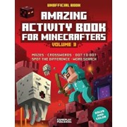 Amazing Activity Book for Minecrafters: Puzzles, Mazes, Dot-To-Dot, Spot the Difference, Crosswords, Maths, Word Search and More (Unofficial Book), Paperback/Gameplay Publishing
