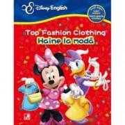 Disney English. Top fashion clothing fun Haine la moda. Invata despre imbracaminte culori