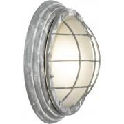 Lampă de perete de exterior, 46 W, E27, gri-beton, Brilliant Olena