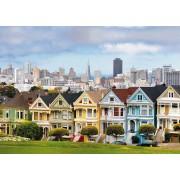 Пазл - «Викторианские дома Сан-Франциско» 1000 шт