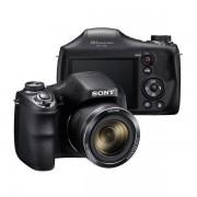 Sony Cyber-shot DSC-H300B Black crni digitalni kompaktni fotoaparat DSC-H300 DSCH300B 20Mp 35x 720p 3 DSCH300B.CE3 DSCH300B.CE3