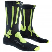 X-SOCKS Calze trekking X-Socks Light & Comfort (Colore: grigio-lime, Taglia: 39/41)
