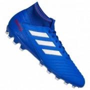 adidas Predator 19.3 AG Heren Voetbalschoenen BC0297 - blauw - Size: 39 1/3