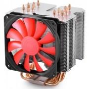 "Cooler Procesor DeepCool LGA20xx/1366/115x/775 & FMx/AMx, Al+Cu, 6x heatpipe, fan 120x20mm, 130W ""LUCIFER K2"""