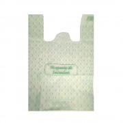 Pungi Biodegradabile Albe, Model Imprimat 24x6x44 cm, 500 Buc/Bax - Plase Ecologice si Reciclabile