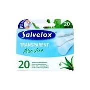 Pensos transparentes com aloé vera 20 unidades - Salvelox