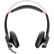 PLANTRONICS Voyager Focus B825-M ANC Headset. Stereo, Kabellos, Opt. für Skype for Business, inkl Stand und USB-A BT Dongle