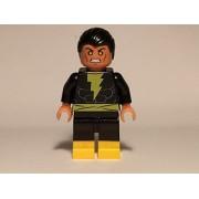 Lego Custom Printed Black Adam Minifig Dc Super Hero Villain Teth Adam