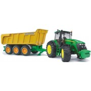 Bruder 1173 John Deere 7930 With Joskin Tipping Trailer Toy For Kids - Multi Color