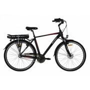 Bicicleta electrica Devron City E Bike Devron 28121 L negru mat 28 inch