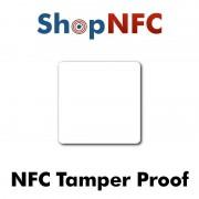 Etiqueta NFC Tamper Proof NTAG213 52x52mm adhesiva