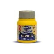 Tinta p/tecido fosca 37ml amarelo ouro 04140 Acrilex
