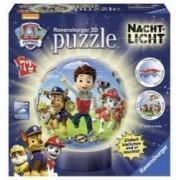 Puzzle 3D Patrula de noapte a catelusilor 72 piese
