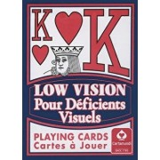 "Low Vision ""new Sight"" Poker Deck Card Game/U S Games Systems"