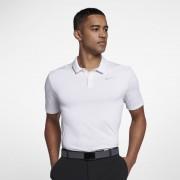 Nike Breathe Golf-Poloshirt in Standardpassform für Herren - Weiß