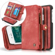 CASEME notesz telefontok Apple iPhone 7 / iPhone 8 telefonhoz - PIROS