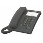 Teléfono Panasonic Unilinea básico s/memoria KX-TS500MEB