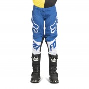 FOX Pantalones de Cross Fox 180 Race Niño Azules MX 18