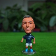 """Football star Soccer Player Star 10# BENZEMA (FRA 2014) 2.5"""" Action Figure"""
