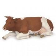 Figurina Papo - Vaca Simmental sezand