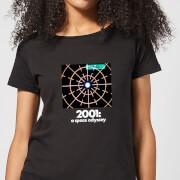 2001: A Space Odyssey Scanner Women's T-Shirt - Black - M - Zwart