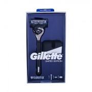 Gillette Fusion Proshield Chill sada holicí strojek s jednou hlavicí 1 ks + stojánek na holicí strojek 1 ks pro muže